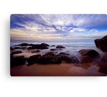 The Boiling Sea and Sky Canvas Print