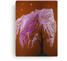 Zoey's Cherry Blossom Tree in Nursery Canvas Print