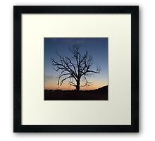 just a trace... Framed Print