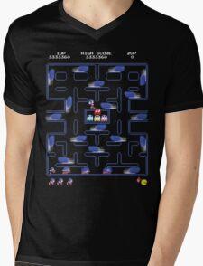 Speed Run Mens V-Neck T-Shirt