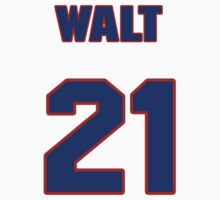 National baseball player Walt Kellner jersey 21 by imsport