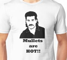 Mullets are hot Unisex T-Shirt