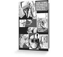 Time - a comic (page 5) Greeting Card