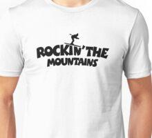 Rockin' the Mountains (Skiing) Unisex T-Shirt