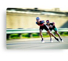 Inline Speed Canvas Print