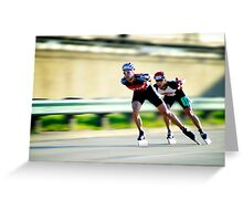 Inline Speed Greeting Card