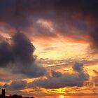 Powerful Sunset  by Of Land & Ocean - Samantha Goode