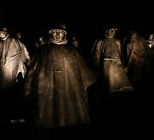 Korean War Memorial - Washington D.C. by CGrossmeier