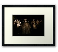 Korean War Memorial - Washington D.C. Framed Print