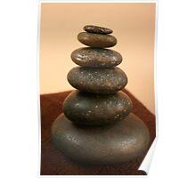 Hot Stone Massage Poster