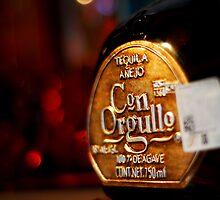 Tequila Anejo Con Orgullo Bottle by CGrossmeier