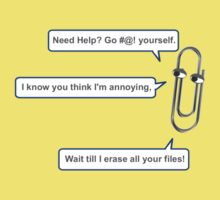 Paperclip says... by buzzini