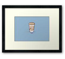 Coughee Framed Print