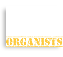 8th Day Organists T-shirt Canvas Print