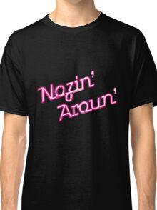 Nosin' Aroun' pastel pink Classic T-Shirt