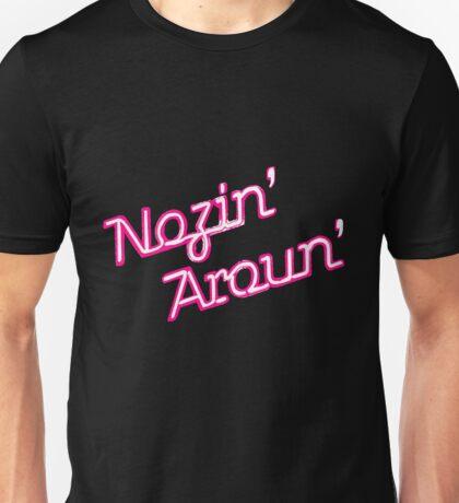 Nosin' Aroun' pastel pink Unisex T-Shirt