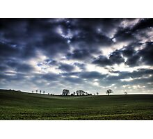 Misty Linslade Morning (Landscape HDR) Photographic Print