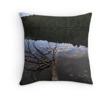 Fallen Trees Throw Pillow