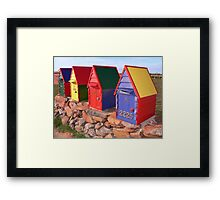 Postie's Delight Framed Print