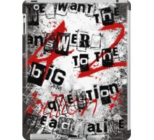the redemption of a hitchhiker iPad Case/Skin