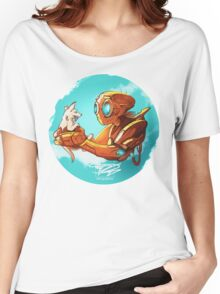 robo and puppy!  Women's Relaxed Fit T-Shirt