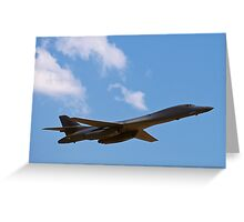 B-1B Lancer Greeting Card