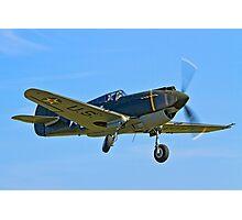 P-40B Warhawk 41-13297 G-CDWH Photographic Print