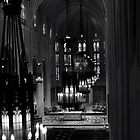 B&W Church I by ThomasBlair