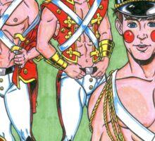 Boy Toy Soldiers Sticker