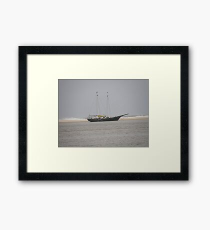 Sailing Framed Print