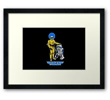 Not the droids you are looking for Framed Print