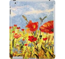 Wildflowers in Acrylics iPad Case/Skin
