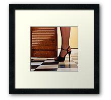 Kitchen Stilettos Framed Print