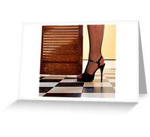 Kitchen Stilettos Greeting Card