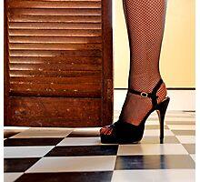 Kitchen Stilettos Photographic Print
