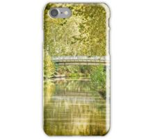 Bridge over the Canal iPhone Case/Skin