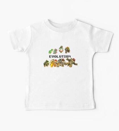 The Evolution of Bowser Baby Tee