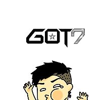 Jackson Wang Got7 funny face by oricca