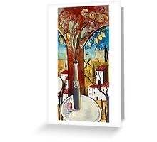 The Morning Graces - Panel C Greeting Card