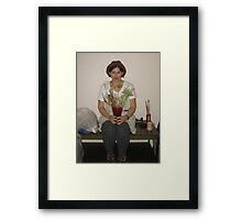 JUST JANE Framed Print