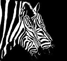 Merging Zebras by Dawn B Davies-McIninch