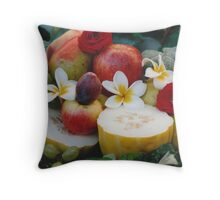 Fruit Still Life Throw Pillow