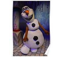 Disney Frozen Anna Elsa Disney Olaf Queen Princess Poster