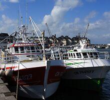 Harbour Fleet by aidan  moran
