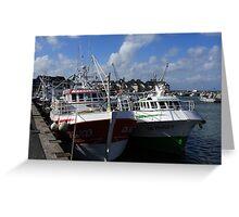 Harbour Fleet Greeting Card