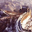 Winter at the Great Wall of China by Hannah Nicholas