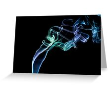 Smoke Art 17 Greeting Card