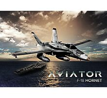 F-18 Hornet Jet Fighter Photographic Print