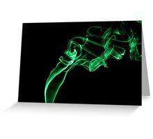 Smoke Art 18 Greeting Card