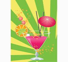 Pink cocktail with decorations Unisex T-Shirt